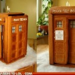 TARDIS Gingerbread