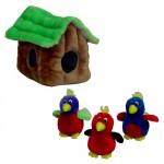 Hide a Bird Dog Toy