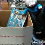 Edgar Halps Wif Toys for Tots Donation Part 2