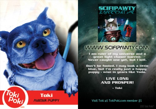 Toki SCIFIpawty Trading Cards