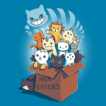 Free Kittens T-Shirt Halp Name Da Kittehs