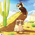 Grumpy Cat Comes to Comics