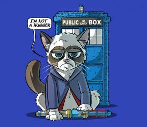 Grumpy Doctor Who