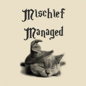 Mischief Managed Cat T-Shirt