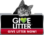 Give Litter to Shelter Kitties